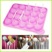 Buy cheap 20 Holes Silicone Wedding Cake Pop Mold FYD-1917 from wholesalers