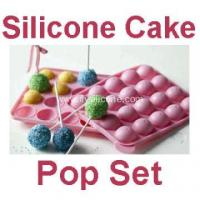 Buy cheap 20 Free Sticks Silicone Cake Chocolate Lollipops Tray from wholesalers