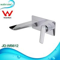 Buy cheap Latest design Watermark WELS DR brass wall mounted wash basin mixerJD-WB612 from wholesalers