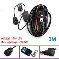 China APWH-412V 40A 360W 1 to 2 flash Remote Control Wiring Harness Kit on sale