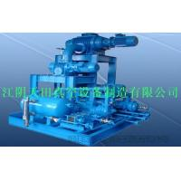 China Gas-cooled Roots liquid ring vacuum unit on sale