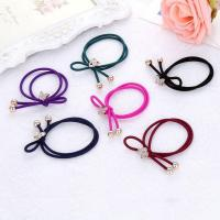 Buy cheap Colorful Plastic Elastics Children's Kids Candy Color Rubber Band Girl Hair Accessories Headdress from wholesalers