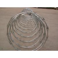 Buy cheap CBT60 concertina razor barbed wire from wholesalers