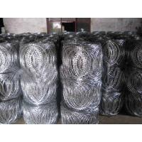 Buy cheap Factory supply ISO9001 concertina razor barbed wire from wholesalers