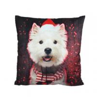 Buy cheap Christmas puppy cushion SH-christmas03 from wholesalers