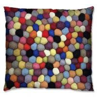 Wholesale Colour mixture wool coil style cushion 5 from china suppliers