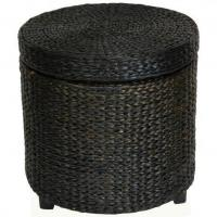 Buy cheap Rush Grass Storage Footstool from wholesalers