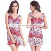 Wholesale Fashion Design 2016 Sexy Girls Stretch Mesh Beach Bathing suit( VB009) from china suppliers