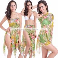 Wholesale Multi way 3 Wear Options Convertible Transparent Mesh 2016 Sexy Swimwear Beachwear( VB010) from china suppliers