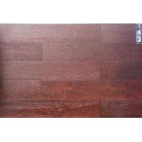 Buy cheap Solid Brushed red and black oak from wholesalers
