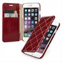 Buy cheap Premium Leather Case for Apple iPhone 6 Plus 5.5 from wholesalers