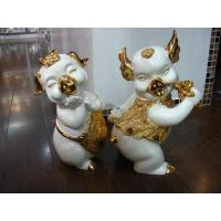 Buy cheap Resin Home Decoration Happy life from wholesalers