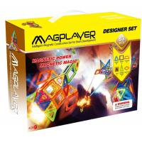 Buy cheap Magnetic Block Toys Magplayer Sets 83 Pieces with CE and ASTM Certificates from wholesalers