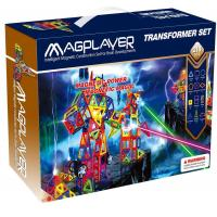 Buy cheap Magnetic Building Block Toys Magplayer Set 218 Pieces for Kids from wholesalers