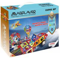 Buy cheap Magnetic Assemble Toys Magplayer Sets 98 Pieces with Original Design from wholesalers