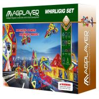 Buy cheap Magnetic Mag Wisdom Toy of Magplayer Construction Toy 112 Pieces from wholesalers