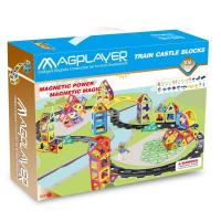 Wholesale 106 Pieces Learning Train Magformers Toys With CE an ASTM Certificates from china suppliers