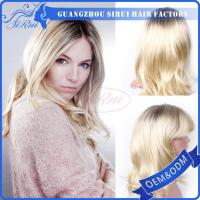 China Synthetic Wig For White Woman 613 Color SIRUI Wholesale Cheap Price on sale