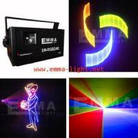 China Multi Color 1.5w RGB Animation laser light for sale on sale