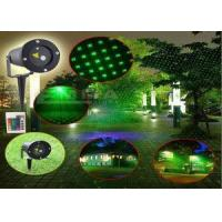 Green Waterproof Landscape Lights Lamp Garden Home , Holiday Laser Lights Manufactures