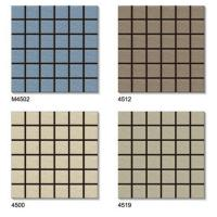 Buy cheap Fujian factory direct sales, mosaic external tile, 45x45 color code tile from wholesalers