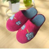 Wholesale OEM flange super warm outdoor flat woman slipper from china suppliers