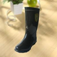 Buy cheap High quality black rubber safety working knee boot product