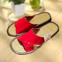 Buy cheap Household comfortable couple leather slipper product
