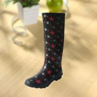 Wholesale Fashion Star Pattern Rubber Knee Boot For Woman from china suppliers