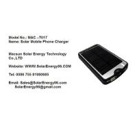 Wholesale Solar Mobile Phone Charger MAC-T017 from china suppliers