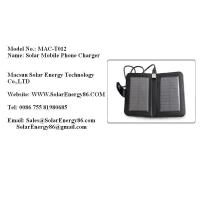 Wholesale Solar Mobile Phone Charger MAC-T012 from china suppliers