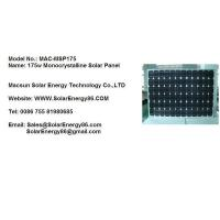 175w Monocrystalline Solar Panel (MAC-MSP175) Manufactures