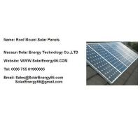 Roof Mount Solar Panels Manufactures