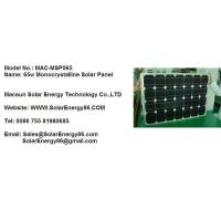 65W Monocrystalline Solar Panel (MAC-MSP065) Manufactures