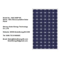 180w Monocrystalline Solar Panel (MAC-MSP180) Manufactures