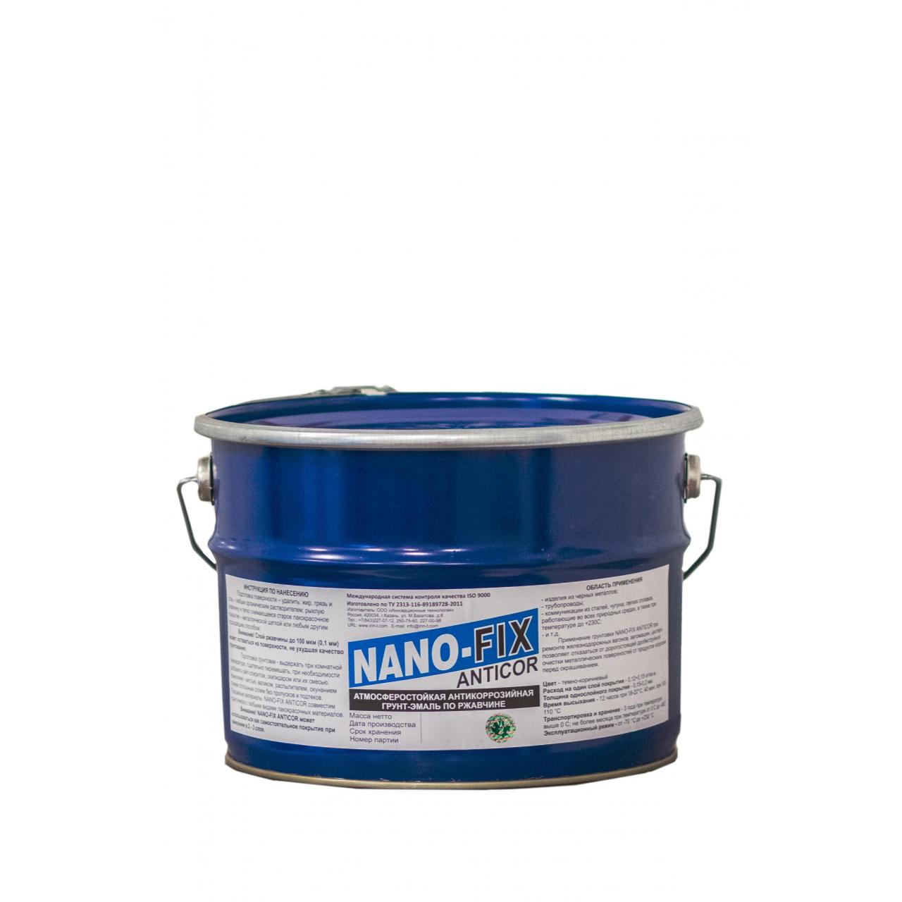 Buy cheap NANO-FIX ANTICOR is anti-corrosion, weather-resistant enamel primer over the rust. from wholesalers