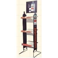 Unique Gridwall Shop Display Stands With Adjustable Wire Hook Bars