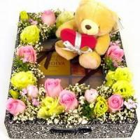 Buy cheap Three Times the Charm / Gift NO.50 delivery flower to taiwan from wholesalers