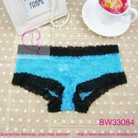 Buy cheap School girls sex photos of blue lace hipster panty full lace transparent panty from wholesalers