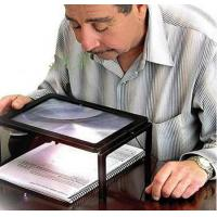 China A4 Size Desktop Magnifying Glass with LED Light on sale