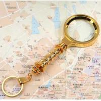 Buy cheap New Flower Handheld 6X Magnifying Glass from wholesalers
