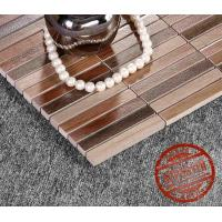 Buy cheap 2016 Hot sale ancient boat wood mosaic tile, 25 years factory, bathroom mosaic from wholesalers