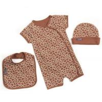 Buy cheap 3pc Giraffe Baby One Piece Romper Gift Set from wholesalers
