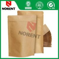 Wholesale Hot Sale Stand Up Kraft Paper Bag With Zipper from china suppliers