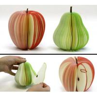 Buy cheap Custom Fruit Shaped Memo Pad, Cute Sticky Notes, cube shaped note pad from wholesalers