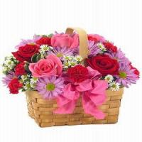 Wholesale Basket of Love NO.82 deliver flower to shanghai from china suppliers