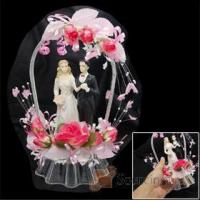 Buy cheap Wedding Cake Topper Bridal Bride & Groom Couple Happy Valentine's Gift Valentines Gifts from wholesalers
