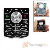 Buy cheap Replacement Keypad Keyboard Black for Motorola L7 More Accessories from wholesalers