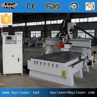 Buy cheap 2040 8 Tools ATC CNC Router With 9kw Italy Spindle Yaskawa Servo Motor from wholesalers