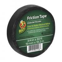 Buy cheap Duck Brand Friction Tape - Black, .75 in. x 60 ft. from wholesalers
